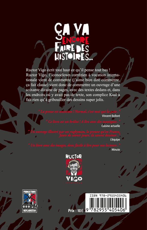 Quatrième de couverture - Ructor Vigo