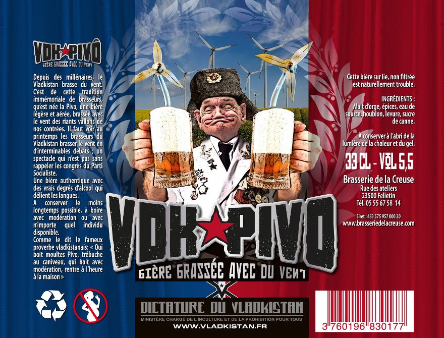 VDK-pivo La bière du Vladkistan