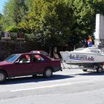 Visite de Felletin en bateau